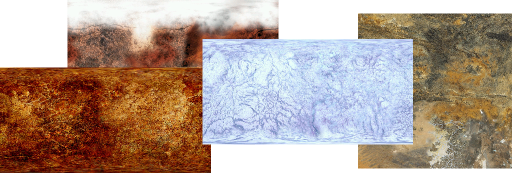 Planet Textures Gallery Header