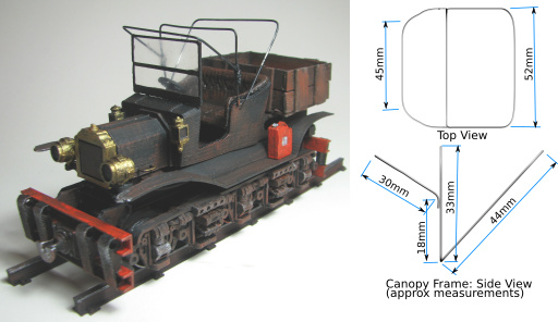 Vintage Railcar Assembly Diagram 2