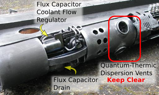 Flux Capacitor Controls