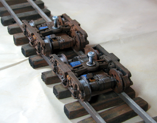 Narrow Gauge Bogie Printed and Painted 1