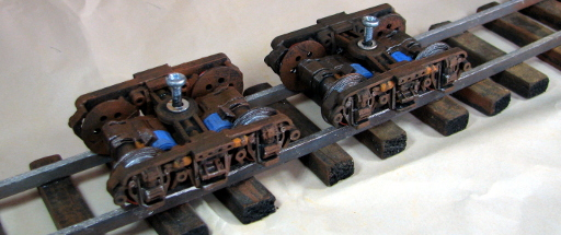 Narrow Gauge Bogie Printed and Painted 2