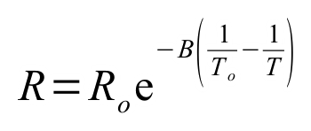 Resistance Expression as a function of B and Temperature
