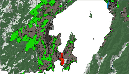 The Wellington Region Parks and Reserves Layer