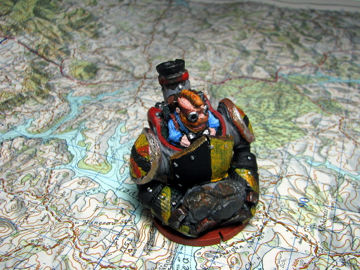 Dwarfclan Stonethrower Painted 1