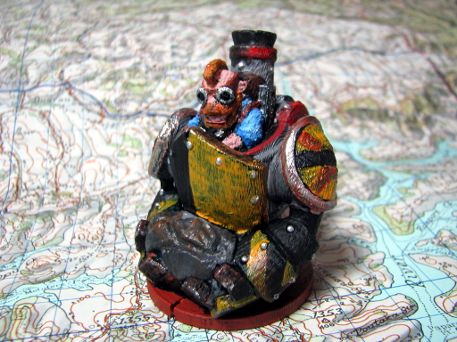 Dwarfclan Stonethrower Painted 2