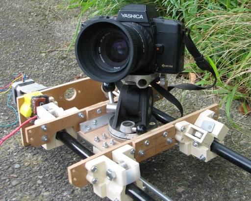 The Camera Slide Outdoors ready to go