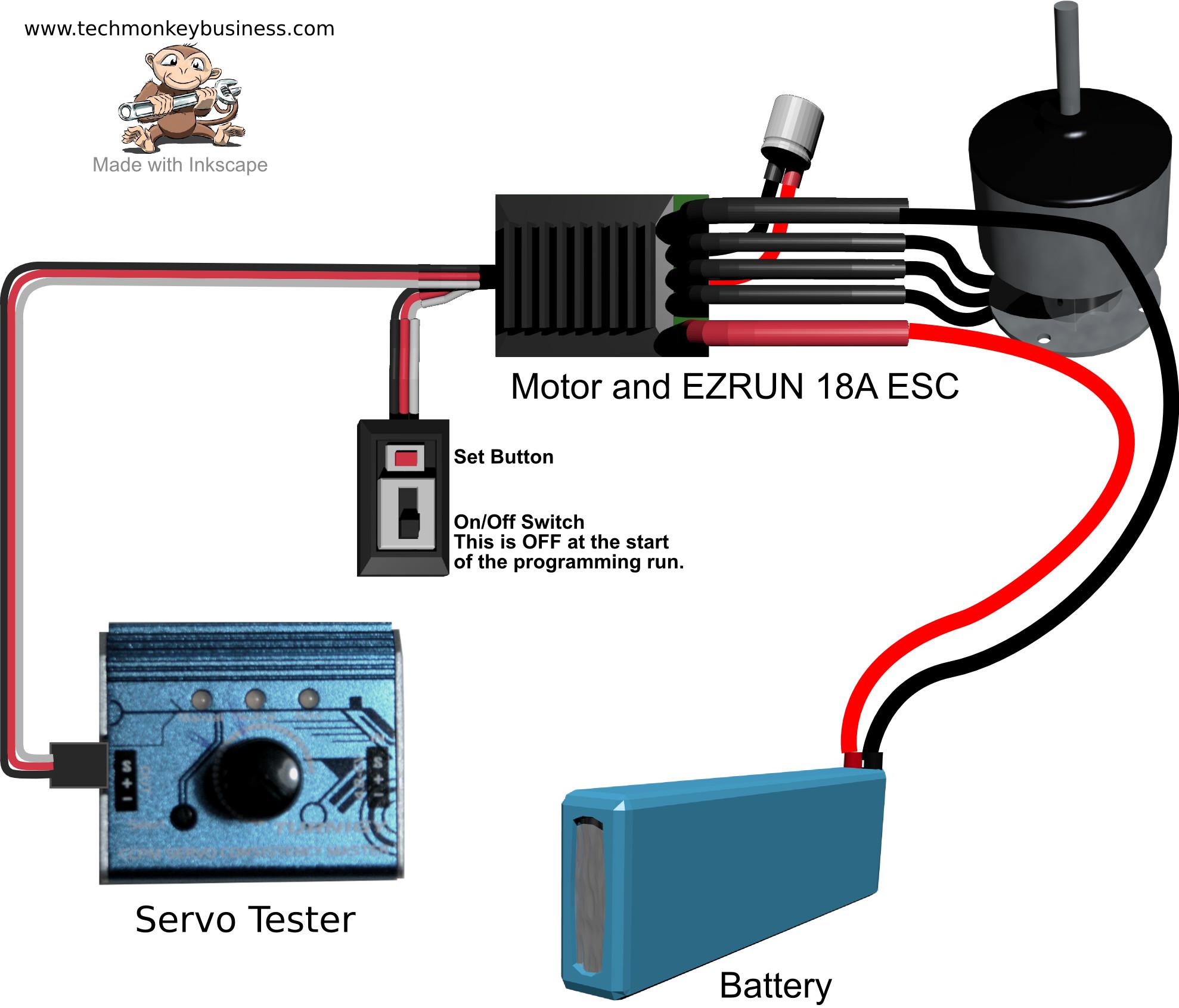 Wiring diagram esc and servo arduino 36 wiring diagram for How to program servo motor