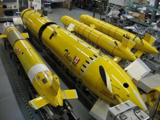 ISE AUVs Being Assembled