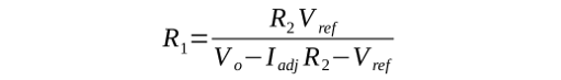 Expression to calculate R1